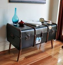 vintage trunk coffee table for the home