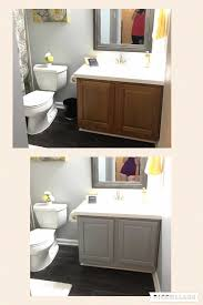 painting bathroom cabinet. Appealing Painting Bathroom Vanity Before And After With Vanities Image Pict Of Painted Black Inspiration Bedroom Cabinet