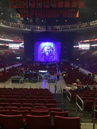 Wells Fargo Center End Stage Seating Chart Wells Fargo Center Section 107 Concert Seating