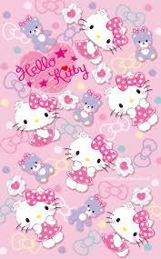Hello Kitty Wallpaper...By Artist Unknown.