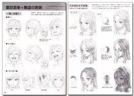 how to draw manga characters expressions drawing reference book