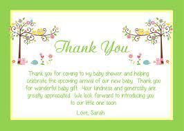 Thank you card for baby shower gift. Baby Shower Thank You Card Wording Ideas Babysof Baby Thank You Cards Baby Shower Thank You Cards Baby Shower Card Wording
