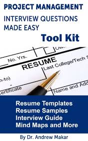 Project Manager Interview Questions Tool Kit Resume Template