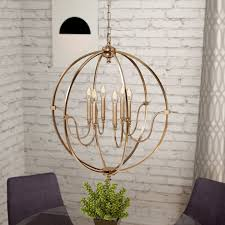 ellis 6 light candle style chandelier