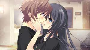 Anime Sweet Kissing Couple Wallpapers ...