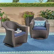 outdoor wicker swivel chair outdoor wicker swivel chair with outdoor cushions set of 2 by knight wicker outdoor swivel lounge chair