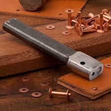 rivet setter copper rivets by garrett wade