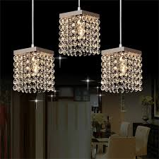 MAMEI Free Shipping Modern 3 Lights Crystal Pendant Lighting Fixtures For  Kitchen Island Nice Ideas