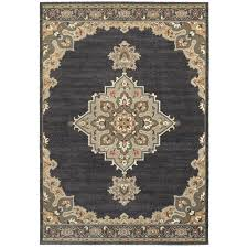 oriental weavers pasha 072e2 blue grey area rug
