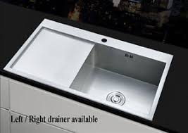 large stainless steel sink. Image Is Loading And Large Stainless Steel Sink