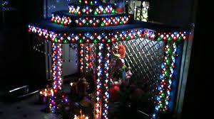 home lighting decoration. home ganesh decoratoin with led lightsrohit yadavhyderabad lighting decoration