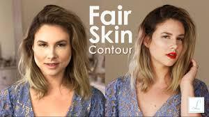 fair skin contour full face makeup tutorial radiant and natural look liveeatstyle
