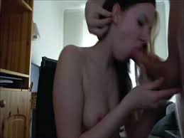Sister giving blow job