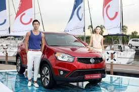 new car launches august 2013Ssangyong Korando C facelift launched in Korea