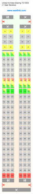 united airline 737 seating chart