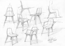 chair design drawing. Tram Chair By Thomas Feichtner For TON Design Drawing R