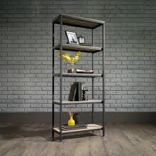 industrial style office. Industrial Style 4 Shelf Bookcase Office