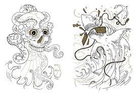 tattoo coloring book oliver munden jo waterhouse 9781780670119 amazon books
