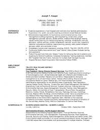 Hospital Housekeeping Resume Examples Of Resumes Administration