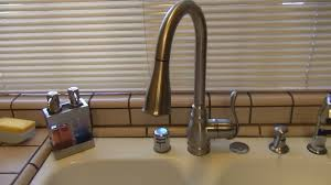 Moen Kitchen Faucet Pull Out Moen Anabelle Kitchen Faucet Ca87003srs Review Youtube