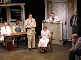 theater review to kill a mockingbird the production company in to kill a mockingbird