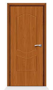 plain door. Plain Wooden Slab Door