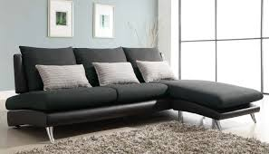 ... Fascinating Furniture For Living Room Decoration Using Black And Grey Sectional  Sofa : Gorgeous Furniture For