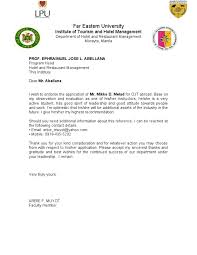 acceptance letter for ojt from the company image gallery acceptance letter for ojt from the company image gallery hcpr