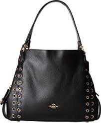 COACH Womens Edie Shoulder Bag 31 With Coach Link Detail
