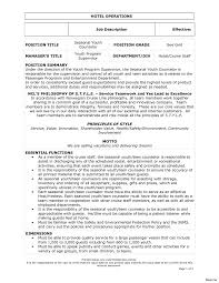 Resume Description Examples Best Job Description Template Resume Examples Is One Of The Idea 33