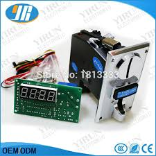 Ems Vending Machine Simple Multi Coin Acceptor Selector CH 48 And Timer Control Board For