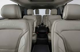 2017 explorer all seating rows