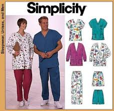Scrub Patterns Beauteous Simplicity 48 Scrubs Jacket