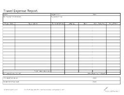 Sample Expense Reimbursement Form Free Travel Claim Expenses Example