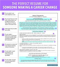Resume For Career Change Captures Studiootb