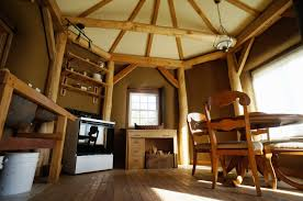 Strawtron Interior East Timber Frame House The Year Of Mud Straw Bale Plans  Modern Courtyard Designs ...