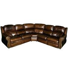 thomasville leather sofa couch sectional by sofas red seat benjamin rev
