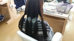 長い髪を切るときは髪を寄付するヘアドネーション Cut In Mode