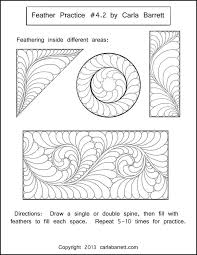 248 best Quilting -- feathers images on Pinterest | Book, Crafts ... & Feather - Worksheet example by Carla Barrett Adamdwight.com