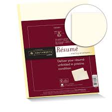 Resume Paper Amazon Southworth 100% Cotton Résumé Envelopes and Labels 100 12
