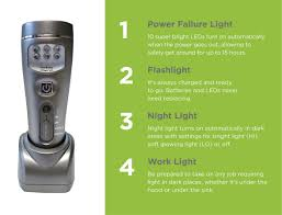 Capstone Lighting Remote Change Battery Power Failure And Work Light 16 Led Lamp Capstone 4 In 1