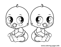 I want to now submit a tutorial that is going to be on one of the cutest baby animal. Baby Twins Coloring Pages Printable