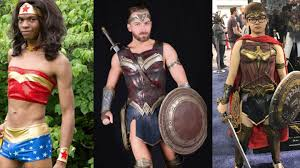 47 genderbend wonder woman photos that will send you to paradise island