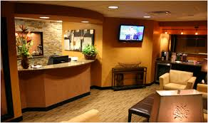 Dental office front desk design Front Wall Dental Office Front Desk Enviromed Design Group Columbus Oh Dental Office Douglas Goff Dds