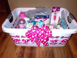 diy baby shower gift basket ideas best girl baskets on gifts