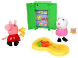 Купить Игровой набор Intertoy <b>Peppa Pig Пеппа и</b> Сьюзи играют в ...