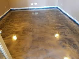 home office flooring. See Our Latest Finished Home Office Stained Concrete Flooring Project! O