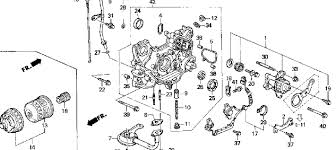 honda accord ex my honda accord as oil leak by oil of the oil system try to see if the leak isn t actually from behind the timing cover we get leaks on this model from 4 5 25and 26 in this diagram