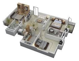Beautiful 3 Bedroom House Floor Plans Or By 3 Bedroom Floor Layout Of Houses