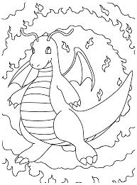 Pokemon Paradijs Kleurplaat Dragonite
